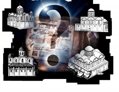Камінь спотикання на аутентичному фундаменті літописного Успенського собору в Крилосі