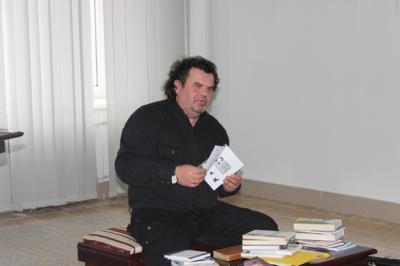 Письменник-галичанин в гостях у земляків