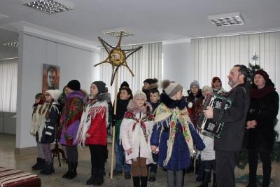 Працівників заповідника привітали зі старим Новим роком