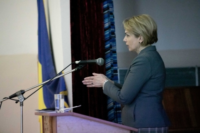У Галичі побувала міністр освіти і науки Лілія Гриневич