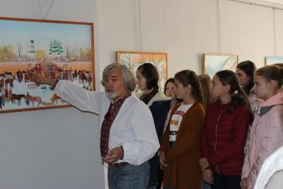 Виставка митця з Дніпра Станіслава Брунса