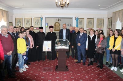 Презентація експозиції Галицького Євангелія у Музеї історії Галича
